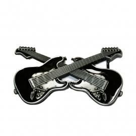 Crossed Bones .. euh! Guitars BUCKLE [B164]