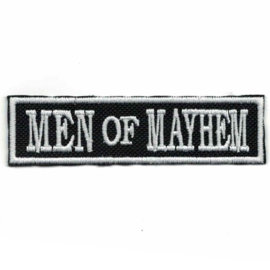 White PATCH - Flash / Stick - MEN of MAYHEM - SOA