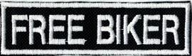016 - PATCH - STICK - Free Biker