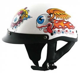HCI - Open Face Helmet - DOT - Flying Eye