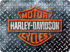 Harley-Davidson - Metal plate / Tin Sign - SMALL