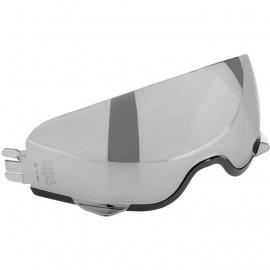 AGV - Iridium Silver / Sun visor (Hi-Jack)