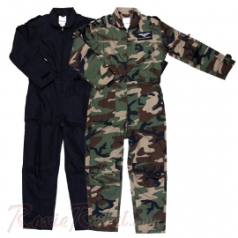 Flight Suit - Pilot Overall - Onesie - Two Colours