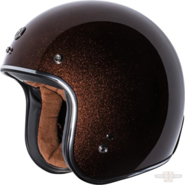 T-50 Torc 3/4 Open Face Helmet Rootbeer Mega Flake