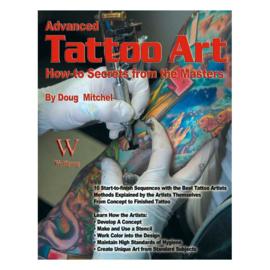BOOK, ADVANCED TATTOO ART - LAST CHANCE