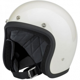 Biltwell INC - Bonanza Helmet - DOT [Gloss Vintage White]