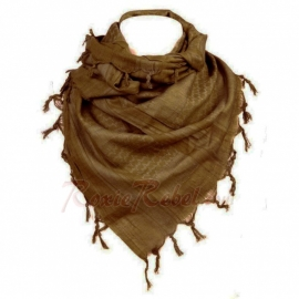 PLO Scarf - Warrior Shawl - Coyoto / Brown