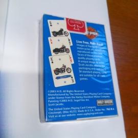 Headlight Playing Cards - Harley-Davidson