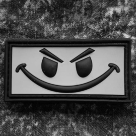 VELCRO/PVC PATCH - small - Evil smiley