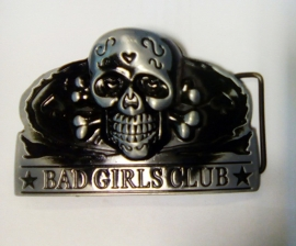 Belt Buckle - Bad Girls Club - Lightweight - Black/Grey