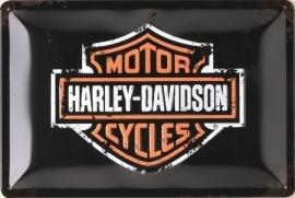 Harley-Davidson - Metal plate / Tin Sign - Logo Nostalgic Art