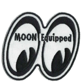 PATCH - MOONEYES Racing - MOON EQUIPPED