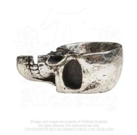 Alchemy England - Trinket Dish - The Vault - Half skull