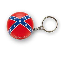 TrikTopz - Keychain - Rebel Flag - Redneck