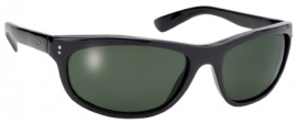 KICKSTART by KD's - Dirty Harry - Larger Sunglasses - Grey / Green Lens