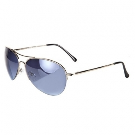 Classic Blue Aviator Sunglasses - 101 INC
