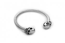 Skull Bracelet - Stainless Steel