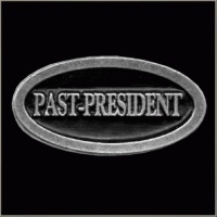 P132 - PIN - Metal Badge - Past-President