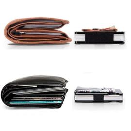Credit Card Holder - RFID Blocking - Black