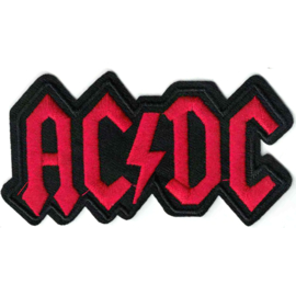 PATCH - AC/DC - AC-DC - ACDC - black and red letters