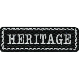 White PATCH - Flash / Stick with rope design - HD - HERITAGE
