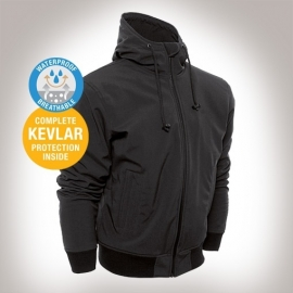 KEVLAR - Bores - SoftShell Hoodie SMALL ONLY