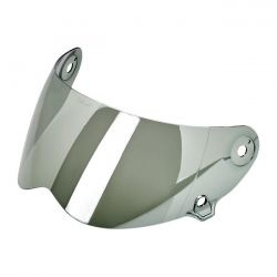 BILTWELL LANE SPLITTER ANTI-FOG FACE SHIELD - CHROME MIRROR
