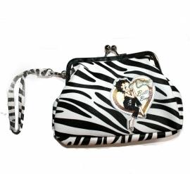Betty Boop - Zebra Purse / Wallet