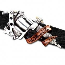 Alchemy England - UL13 - BELT BUCKLE - Tattoo Gun with Banner