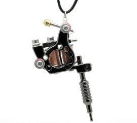 Necklace - Miniature Tattoo Gun