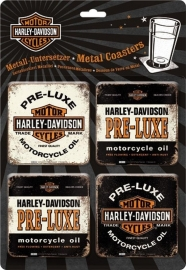 Harley-Davidson - Pre Luxe - Coaster Set (4p)
