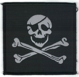 014 - PATCH - Jolly Roger - Pirate Flag