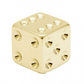 TrikTopz - Valve Caps - Golden Dice