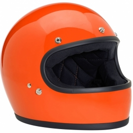 Biltwell INC - Gringo Full Face Helmet - DOT [Gloss Hazard Orange]