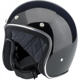 Biltwell INC - Bonanza Helmet - DOT [Glossy Black]
