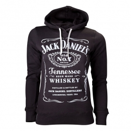 Jack Daniel's - Hoodie - Original Classic Big Logo - Lady-fit