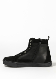 Biker Protection Boots: NEO BLACK/ BLACK
