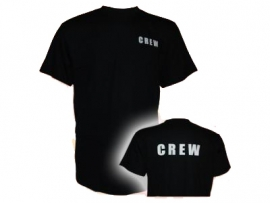 T-Shirt CREW - Black