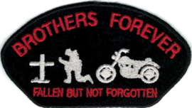 022 - PATCH - BROTHERS FOREVER - Fallen But Not Forgotten