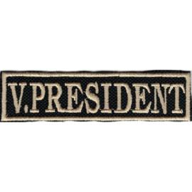 Golden PATCH - Flash / Stick - V. PRESIDENT - vice president