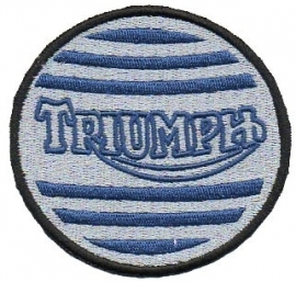 PATCH - Blue & Silver - Triumph (round)