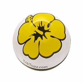 TrikTopz - Valve Caps - Yellow Flowers