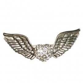 Winged Heart Brooch