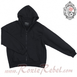 Kosumo - Black Hoodie with Zipper