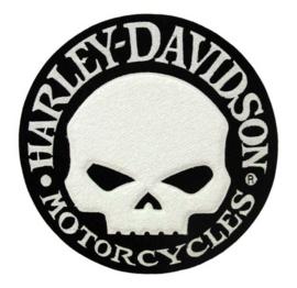 Harley-Davidson® Willie G. Skull Patch. XL Size