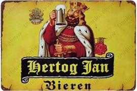Hertog Jan Bieren - Metal Plate