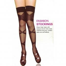 Criss Cross - Bandage Look - Overknee Thights