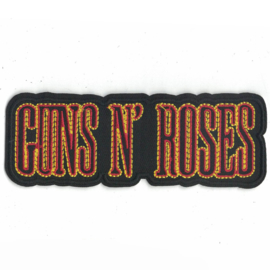 PATCH - GUNS 'N ROSES - GNR - letters
