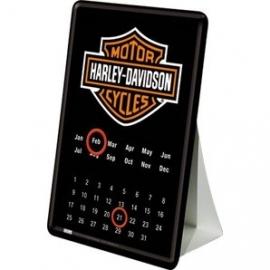 Harley-Davidson - Metal Plate - Mini Calendar