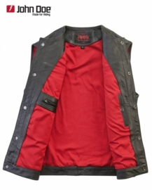 John Doe - Cut Off Leather Vest - Sons of Anarchy-Style